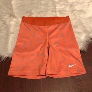 Nike Pro Long Tight Shorts